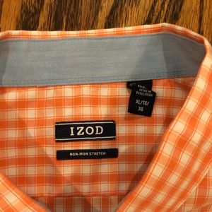 Izod Shirts - IZOD men's short sleeve shirt, XL - Orange